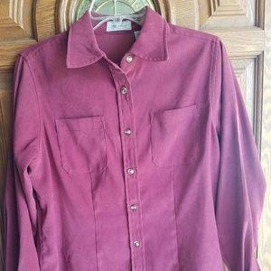 2/$30 Long Sleeve Women's Button Down Shirt